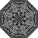 SKIN2 BLACK MARBLE & GRAY METAL 2 (R) Straight Umbrellas View1