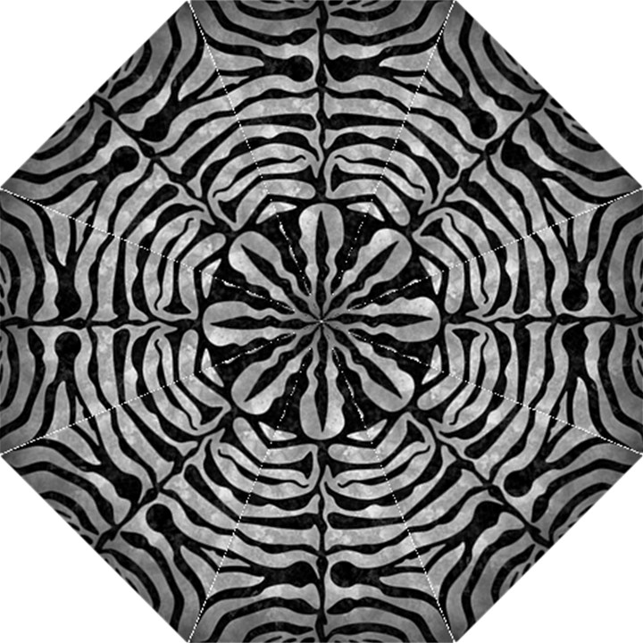 SKIN2 BLACK MARBLE & GRAY METAL 2 (R) Straight Umbrellas