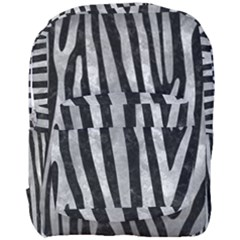 Skin4 Black Marble & Gray Metal 2 (r) Full Print Backpack by trendistuff