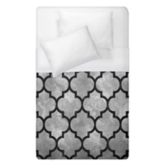 Tile1 Black Marble & Gray Metal 2 (r) Duvet Cover (single Size) by trendistuff