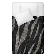 Skin3 Black Marble & Gray Stone Duvet Cover Double Side (single Size) by trendistuff