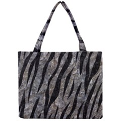 Skin3 Black Marble & Gray Stone (r) Mini Tote Bag by trendistuff