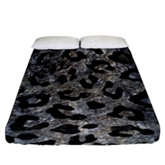 Skin5 Black Marble & Gray Stone Fitted Sheet (california King Size) by trendistuff