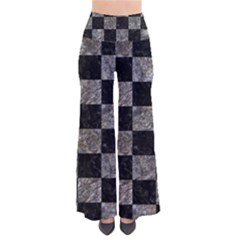 Square1 Black Marble & Gray Stone Pants by trendistuff