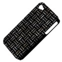 WOVEN1 BLACK MARBLE & GRAY STONE Apple iPhone 4/4S Hardshell Case (PC+Silicone) View4