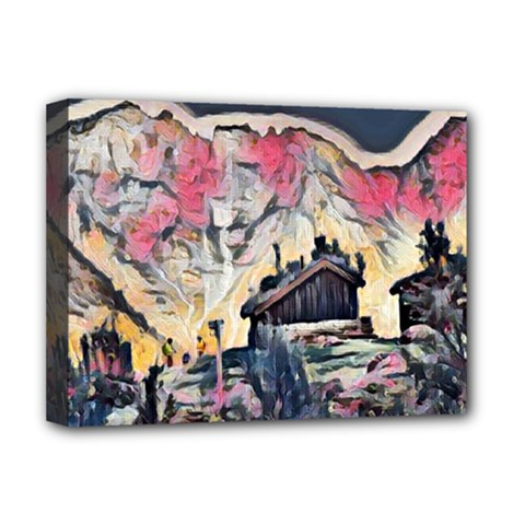 Modern Abstract Painting Deluxe Canvas 16  X 12   by 8fugoso
