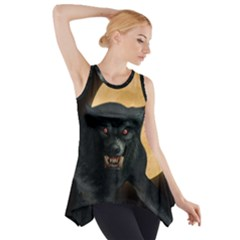 Werewolf Side Drop Tank Tunic by Valentinaart