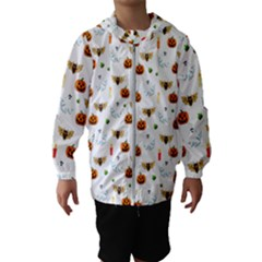Halloween Pattern Hooded Wind Breaker (kids)