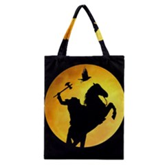 Headless Horseman Classic Tote Bag by Valentinaart