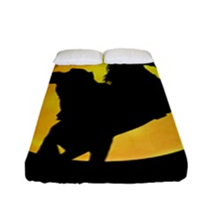 Headless Horseman Fitted Sheet (full/ Double Size) by Valentinaart