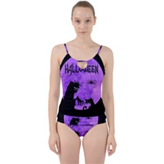 Halloween Cut Out Top Tankini Set by Valentinaart