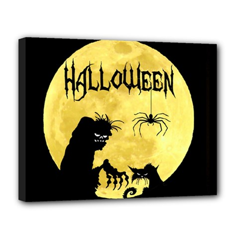 Halloween Canvas 14  X 11  by Valentinaart