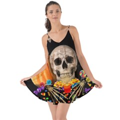 Halloween Candy Keeper Love The Sun Cover Up
