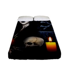 Vampires Night  Fitted Sheet (full/ Double Size) by Valentinaart