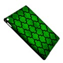 TILE1 BLACK MARBLE & GREEN BRUSHED METAL (R) iPad Air 2 Hardshell Cases View5