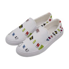 I Am Watching You Women s Canvas Slip Ons by Valentinaart