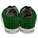 WOVEN1 BLACK MARBLE & GREEN COLORED PENCIL Men s Low Top Canvas Sneakers View4