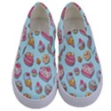 Sweet pattern Kids  Canvas Slip Ons View1