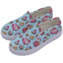 Sweet pattern Kids  Canvas Slip Ons View2