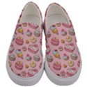Sweet pattern Men s Canvas Slip Ons View1