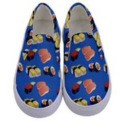 Sushi Pattern Kids  Canvas Slip Ons