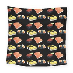 Sushi Pattern Square Tapestry (large) by Valentinaart