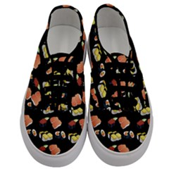 Sushi Pattern Men s Classic Low Top Sneakers