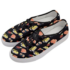 Sushi Pattern Women s Classic Low Top Sneakers by Valentinaart