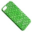 BRICK2 BLACK MARBLE & GREEN WATERCOLOR (R) Apple iPhone 5 Classic Hardshell Case View5
