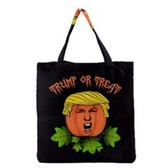 Trump Or Treat  Grocery Tote Bag