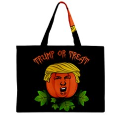 Trump Or Treat  Zipper Mini Tote Bag by Valentinaart