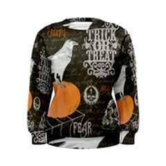 Vintage Halloween Women s Sweatshirt by Valentinaart