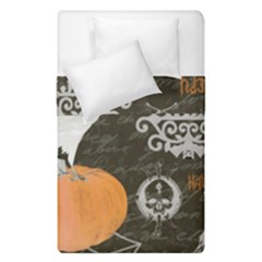 Vintage Halloween Duvet Cover Double Side (single Size) by Valentinaart