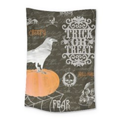 Vintage Halloween Small Tapestry by Valentinaart