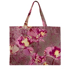 Amazing Glowing Flowers 2b Medium Tote Bag by MoreColorsinLife