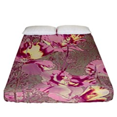Amazing Glowing Flowers 2b Fitted Sheet (california King Size) by MoreColorsinLife