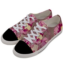 Amazing Glowing Flowers 2b Women s Low Top Canvas Sneakers by MoreColorsinLife