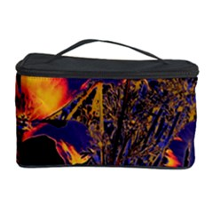 Amazing Glowing Flowers 2a Cosmetic Storage Case by MoreColorsinLife
