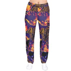 Amazing Glowing Flowers 2a Drawstring Pants by MoreColorsinLife