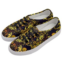 Amazing Neon Flowers B Women s Classic Low Top Sneakers by MoreColorsinLife