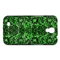 DAMASK2 BLACK MARBLE & GREEN WATERCOLOR (R) Samsung Galaxy Mega 6.3  I9200 Hardshell Case View1