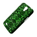 DAMASK2 BLACK MARBLE & GREEN WATERCOLOR (R) Samsung Galaxy Mega 6.3  I9200 Hardshell Case View4
