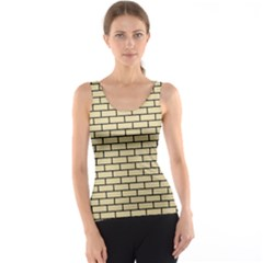 Brick1 Black Marble & Light Sand (r) Tank Top by trendistuff