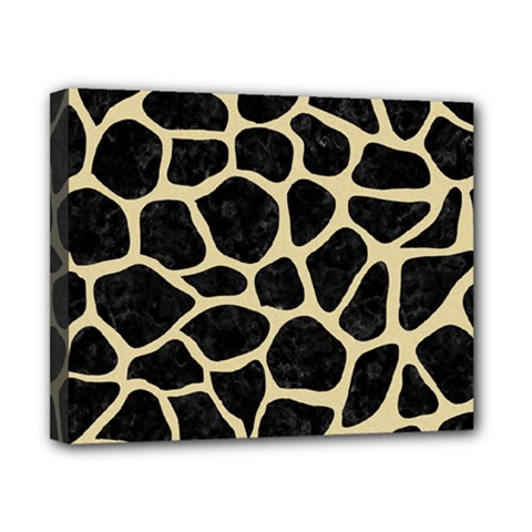 Skin1 Black Marble & Light Sand (r) Canvas 10  X 8  by trendistuff
