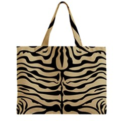 Skin2 Black Marble & Light Sand (r) Zipper Mini Tote Bag by trendistuff