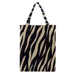Skin3 Black Marble & Light Sand Classic Tote Bag by trendistuff