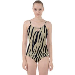 Skin3 Black Marble & Light Sand (r) Cut Out Top Tankini Set