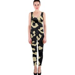 Skin5 Black Marble & Light Sand (r) Onepiece Catsuit by trendistuff