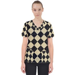 Square2 Black Marble & Light Sand Scrub Top