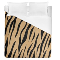 Skin3 Black Marble & Natural White Birch Wood (r) Duvet Cover (queen Size) by trendistuff